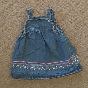 9M Carter's Overall Jean Dress